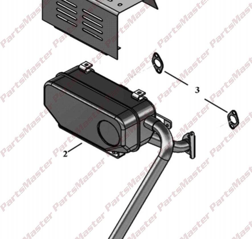 HEAT SHIELD – B & S ENGINE 2157300003 | PartsMaster Inc