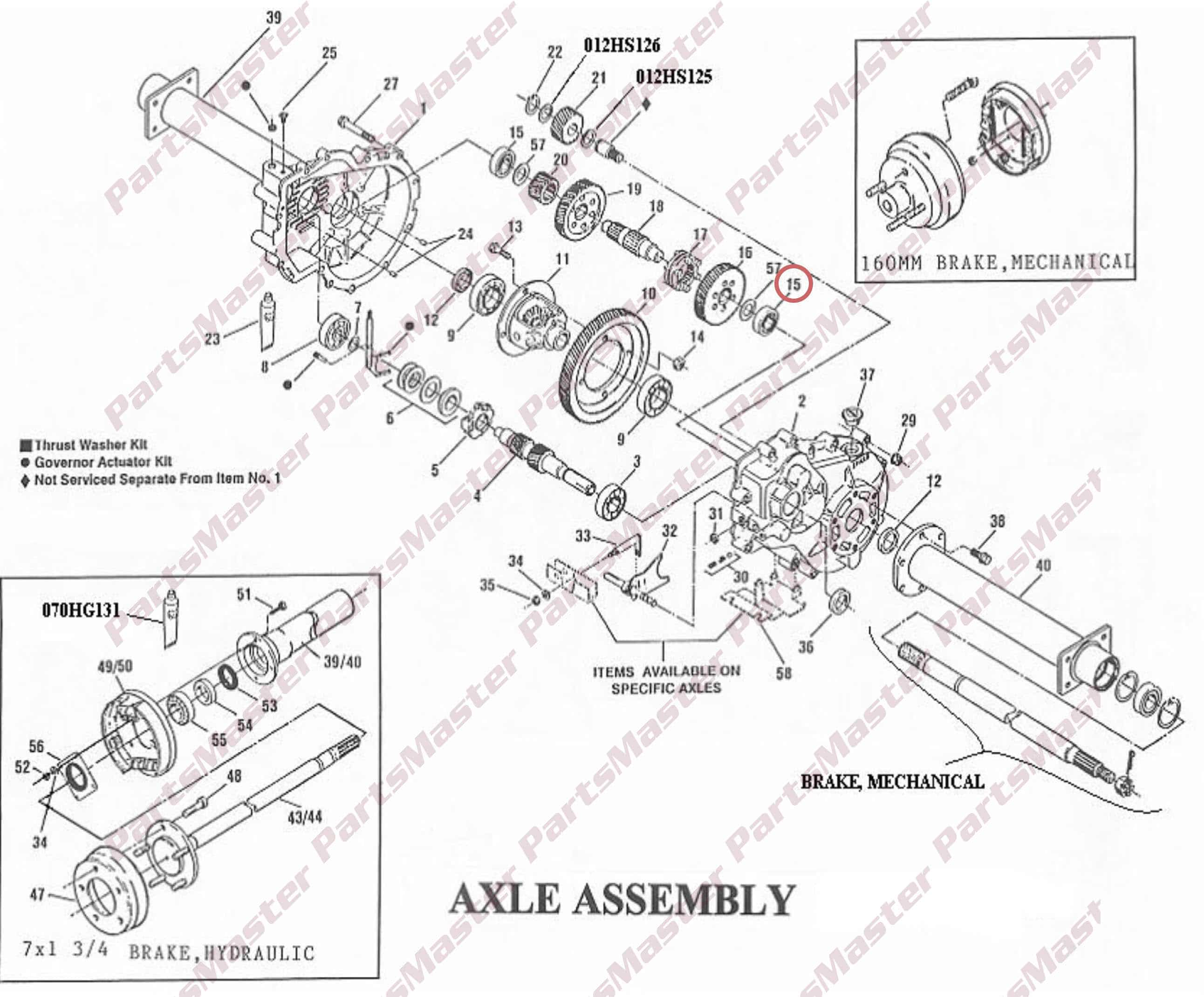 GEAR, CLUTCH / 012GS302 | PartsMaster Inc